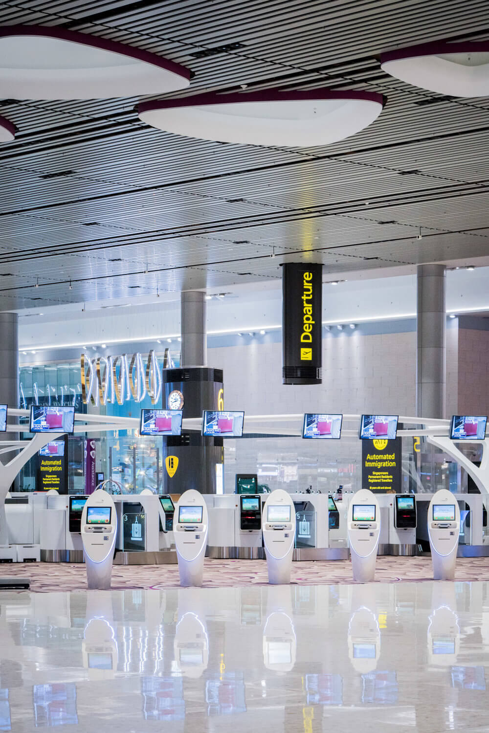 Idemia security products in airport