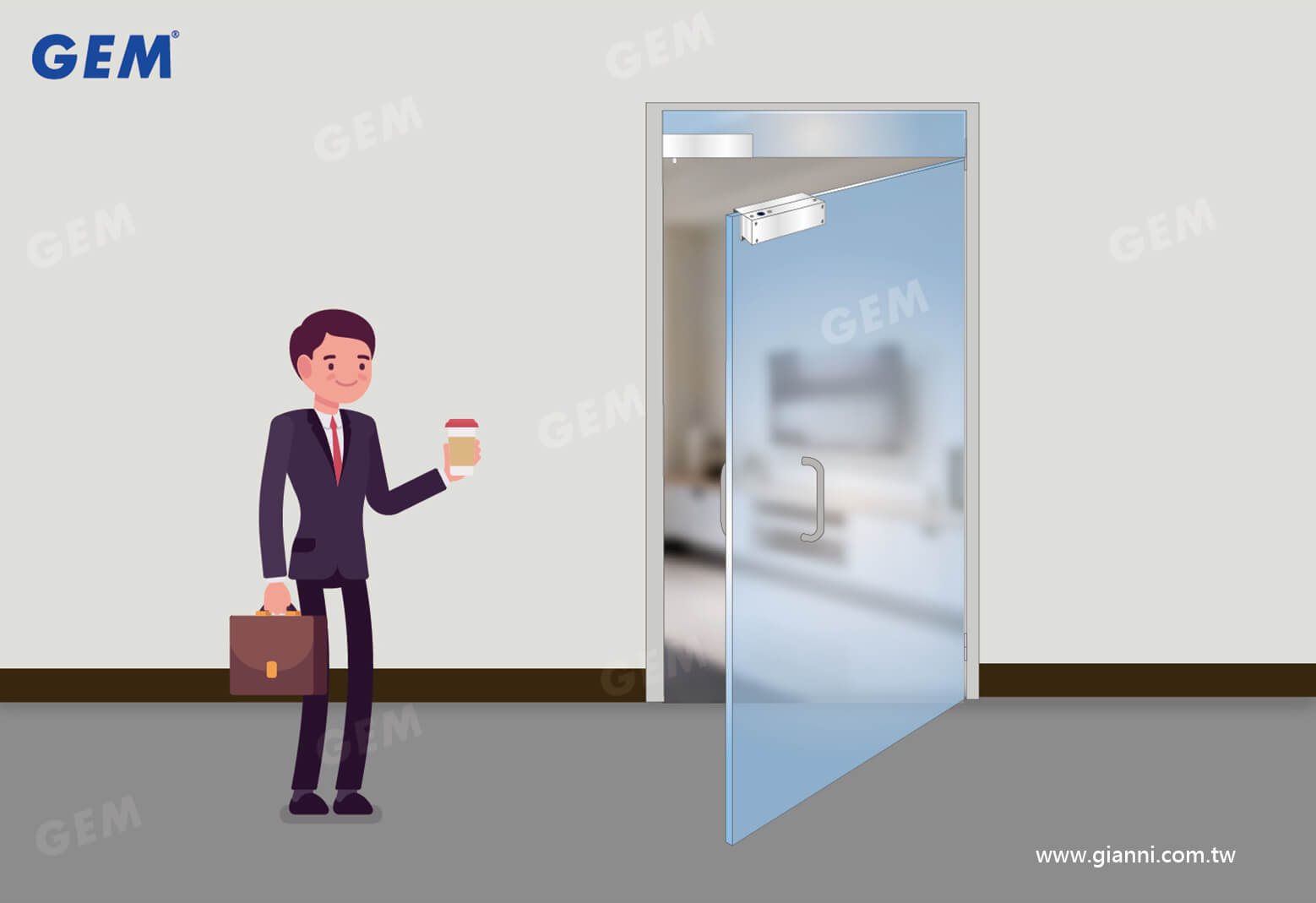 GEM door access control