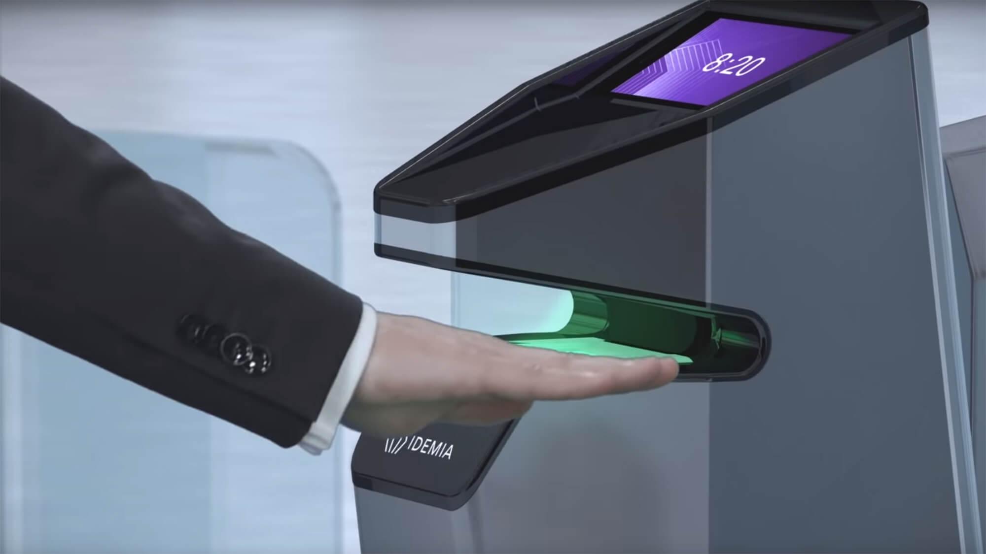 IDEMIA fingerprint scanner system in UAE & Qatar