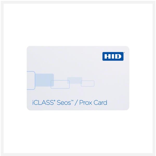 HID iCLASS Seos Prox Card 510x