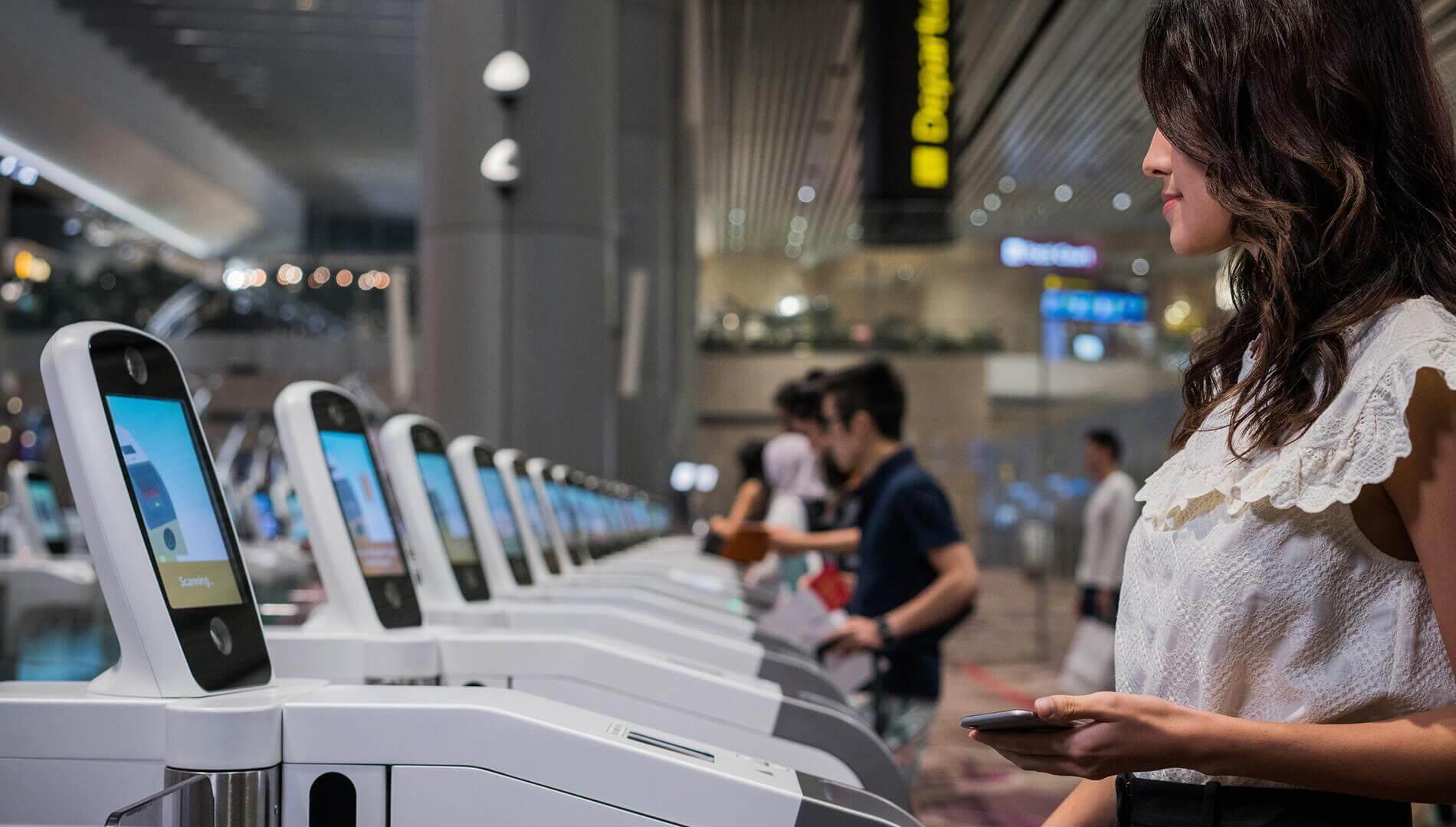 IDEMIA Morpho passenger processing biometric terminals
