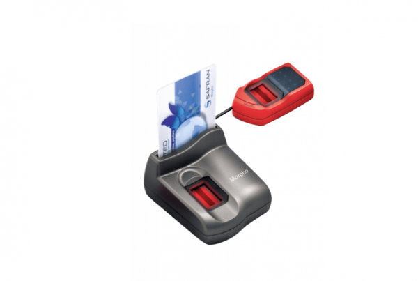 Idemia Morpho MSO 1300 with fingerprint reader and MSO 1350 with Emirates ID card reader and fingerprint card reader UAE
