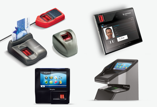 Morpho access control and biometric devices