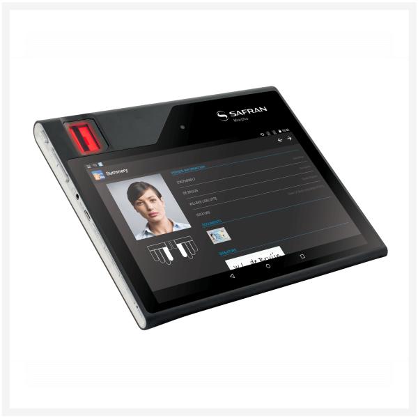 MorphoTablet 2: second generation biometric tablet