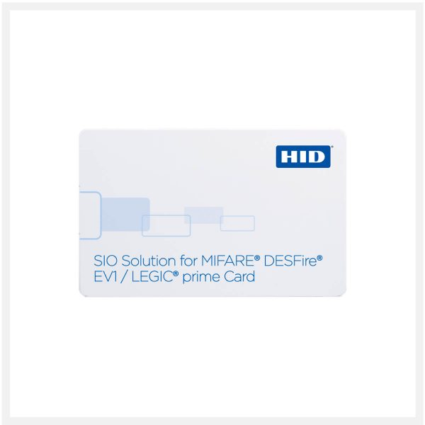 Buy HID SIO Solution for MIFARE DESFire EV1 + LEGIC-prime-1024-293-296 in UAE & Qatar