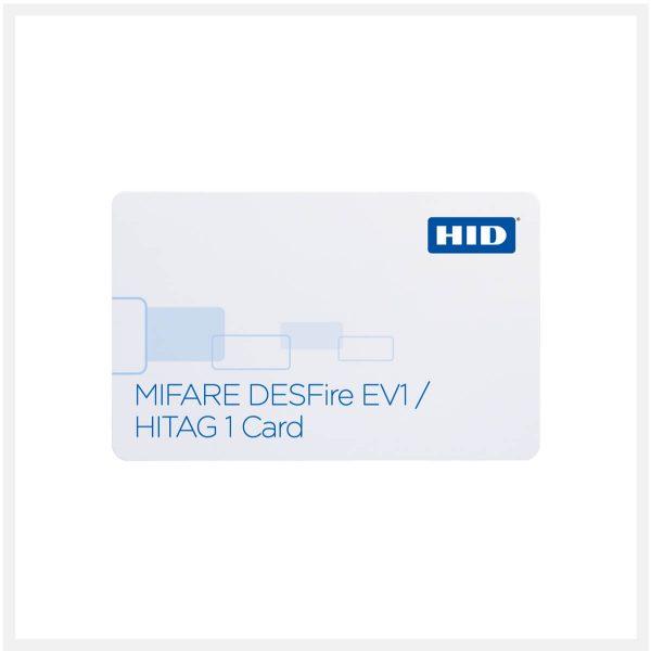 Buy HID SIO Solution for MIFARE DESFire EV1 HITAG1 Card 1451x in UAE & Qatar