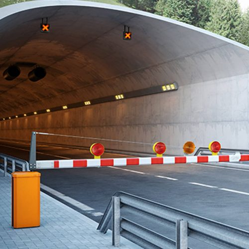 Buy Magnetic Traffic H1 Barrier in UAE, Qatar and Saudi Arabia