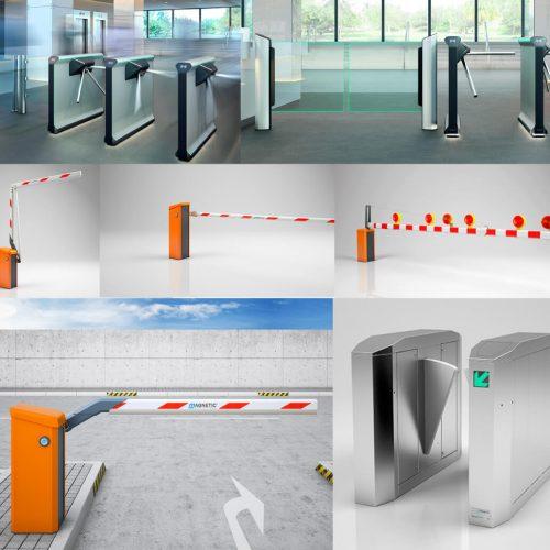 Buy Magnetic high-quality vehicle and pedestrian barriers in UAE, Qatar and Saudi Arabia