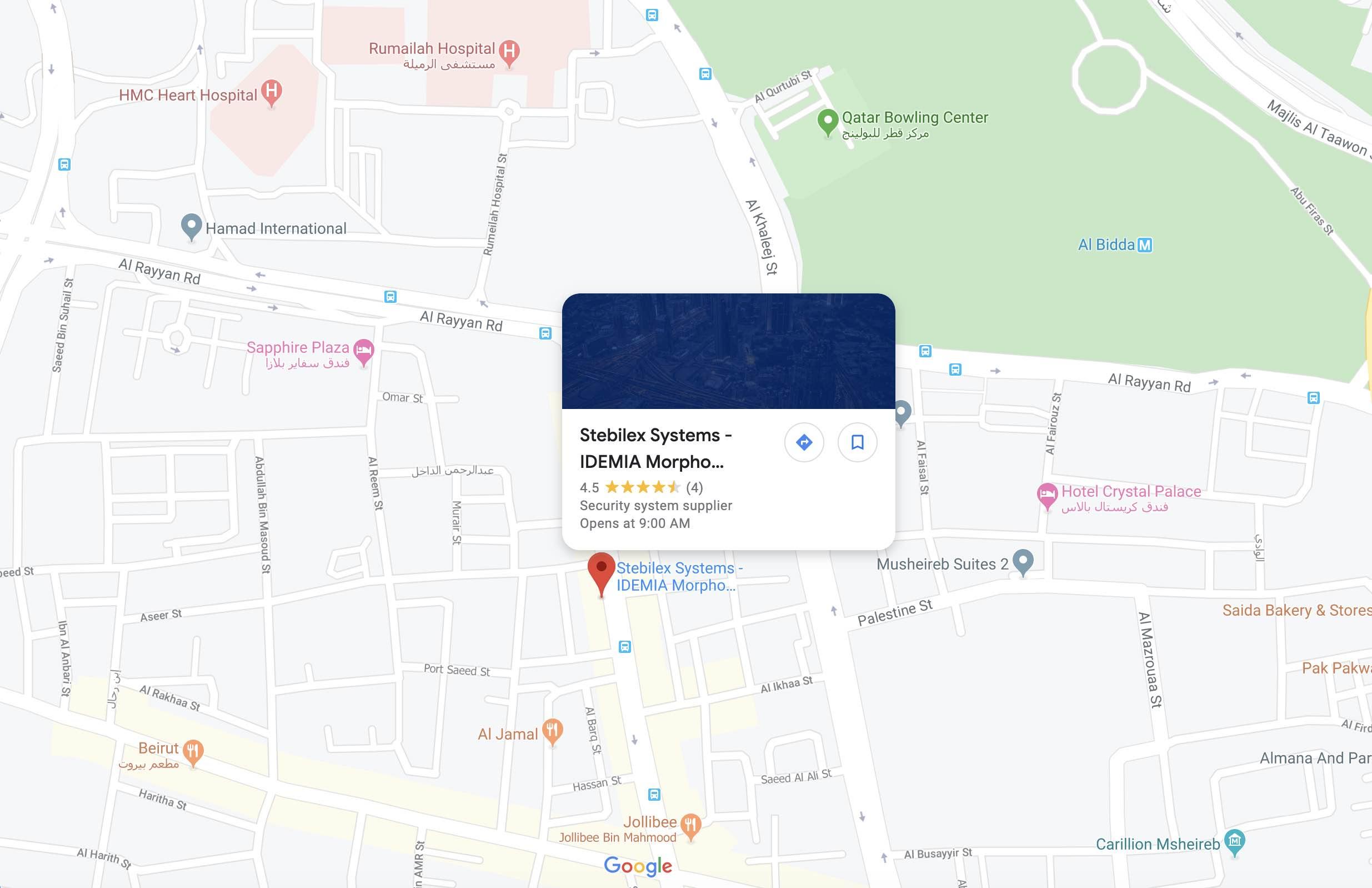 stebilex-doha-qatar-google-map