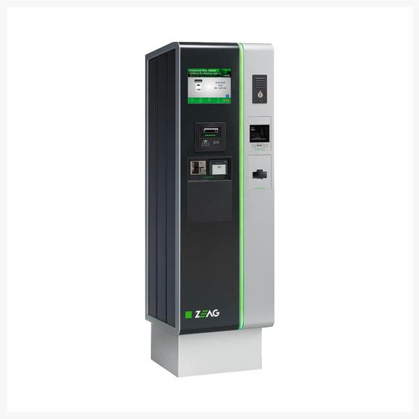 HUB Parking Technology ZEAG Automated Pay Station Cashless - APC