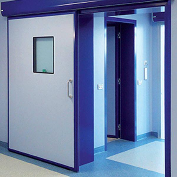 FAAC FHE Sliding entrance for sterile environment - FHE-SSA/SSM/SHA/SHM