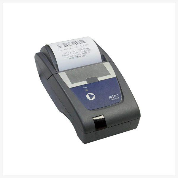 HUB Parking Technology ParQube validation - discount printer