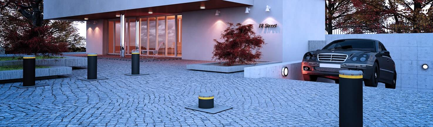 FAAC Bollards for Safety, Security and Traffic Management