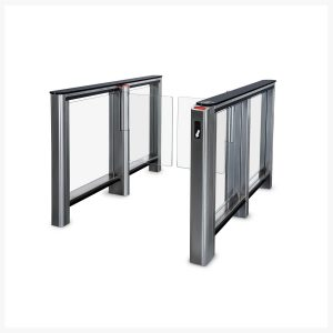 PERCo-ST-01-Speed-Gate-with-Barcode-Reader-Panel