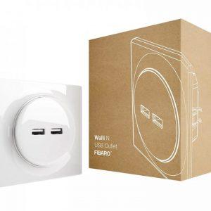 Fibaro-Walli-N-USB-Outlet
