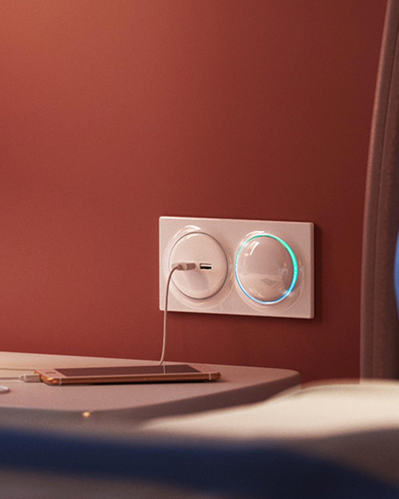 Fibaro-Walli-N-USB-Outlet-wall
